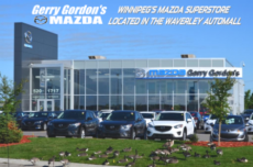 Gerry Gordon's Mazda